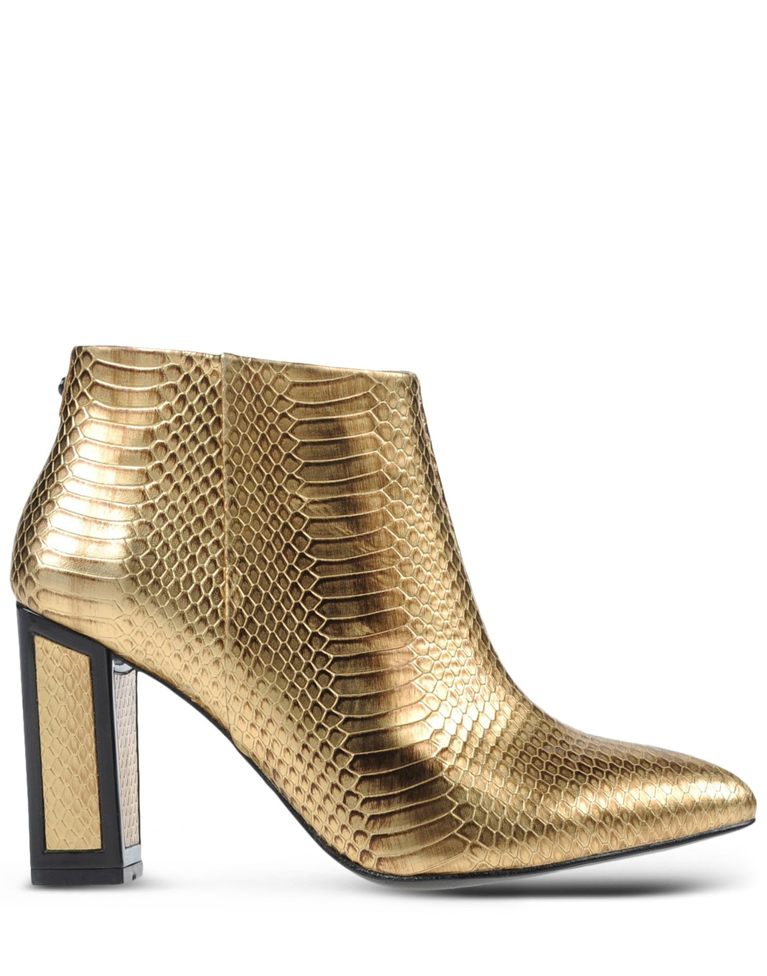 maconie ankle boots in gold lyst
