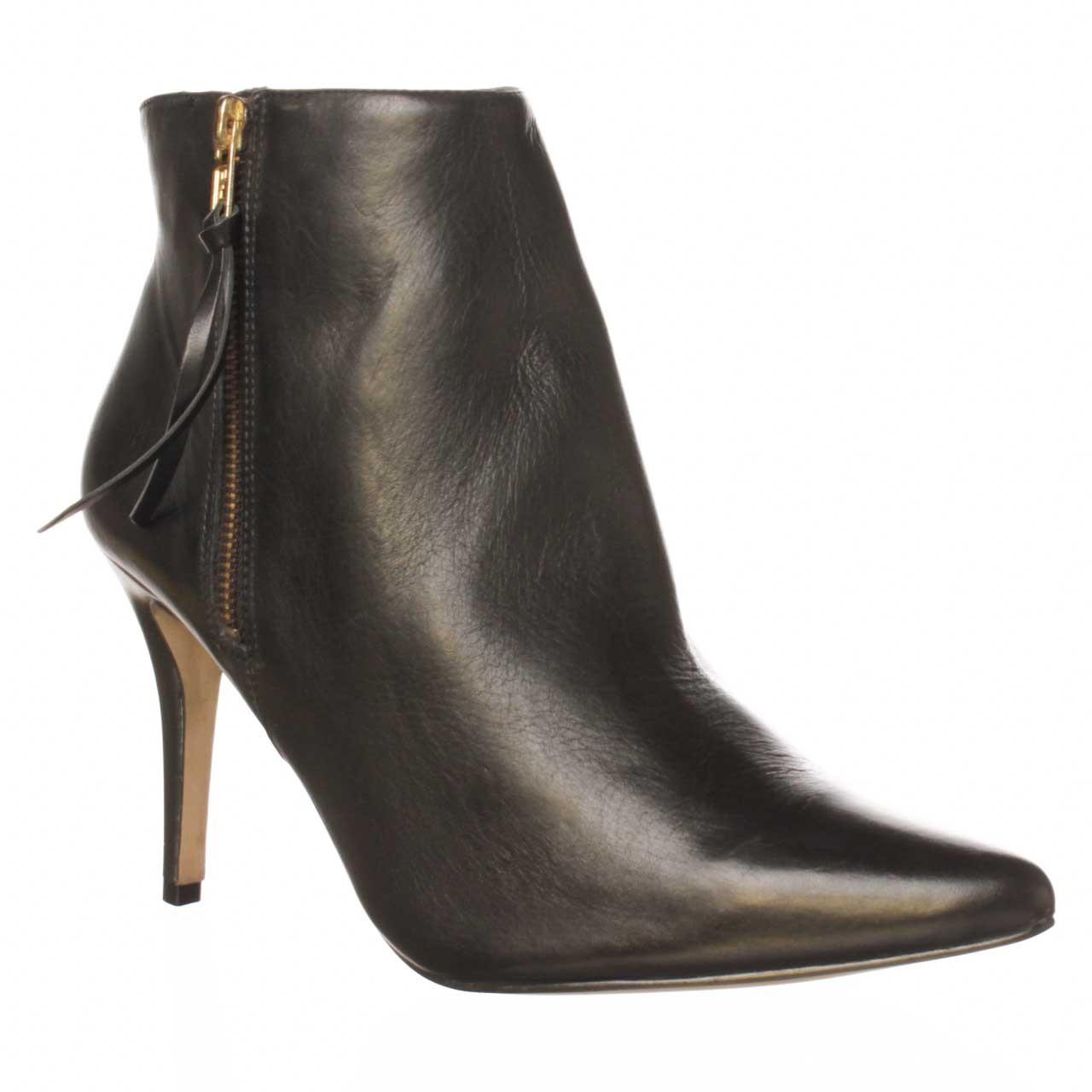 steve madden instantt ankle boot in black lyst. Black Bedroom Furniture Sets. Home Design Ideas