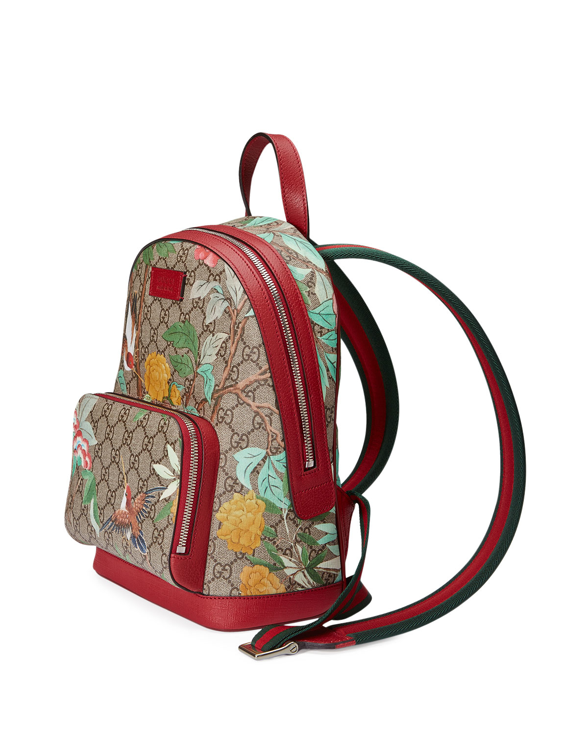 Gucci Gg Supreme Tian Canvas Backpack