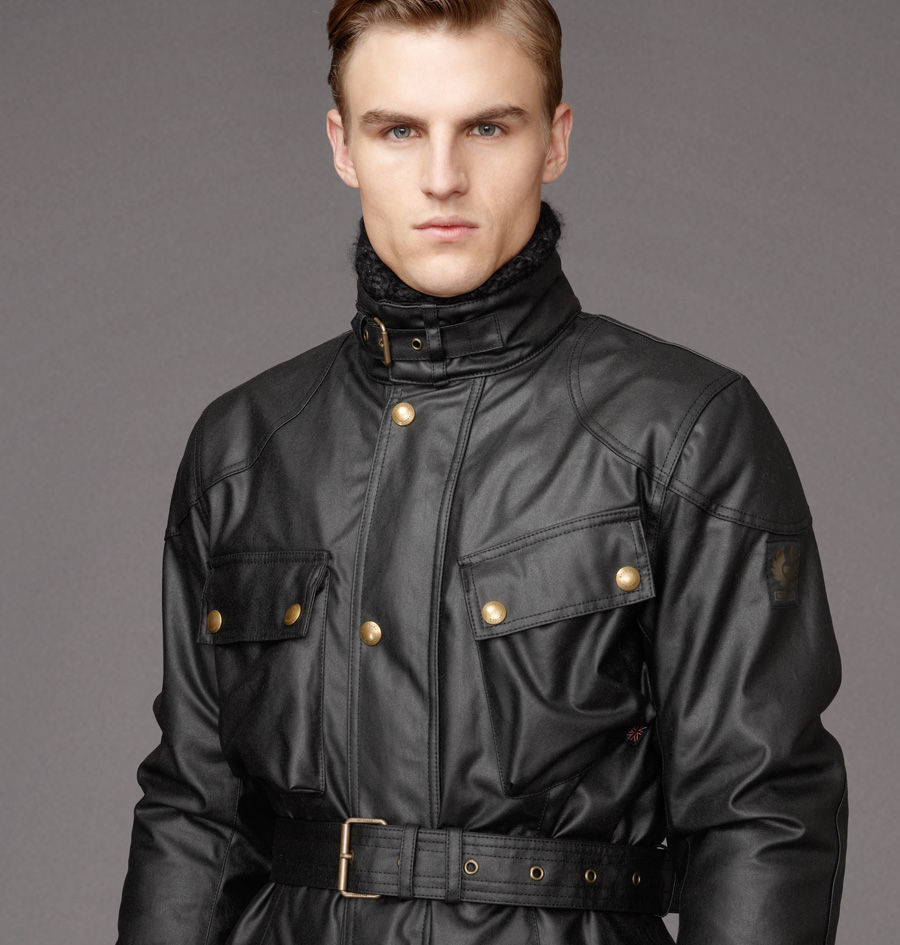 a3f80aa5c0c belstaff trialmaster tourist trophy waxed jacket black | Sheffield ...
