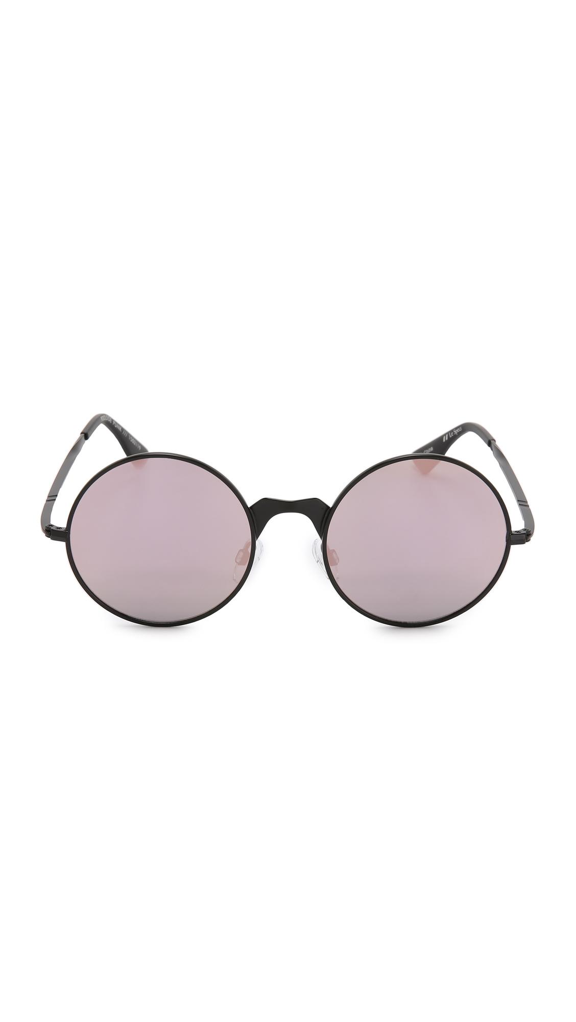 Le Specs Poolside Punk Sonnenbrille Schwarz Poolside Punk 55mm oLrRbuDh