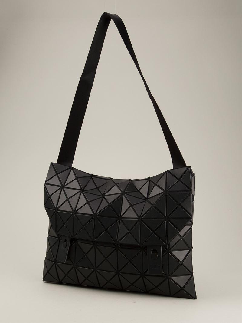 bf98844e828e Lyst - Bao Bao Issey Miyake  Rock-1  Shoulder Bag in Black