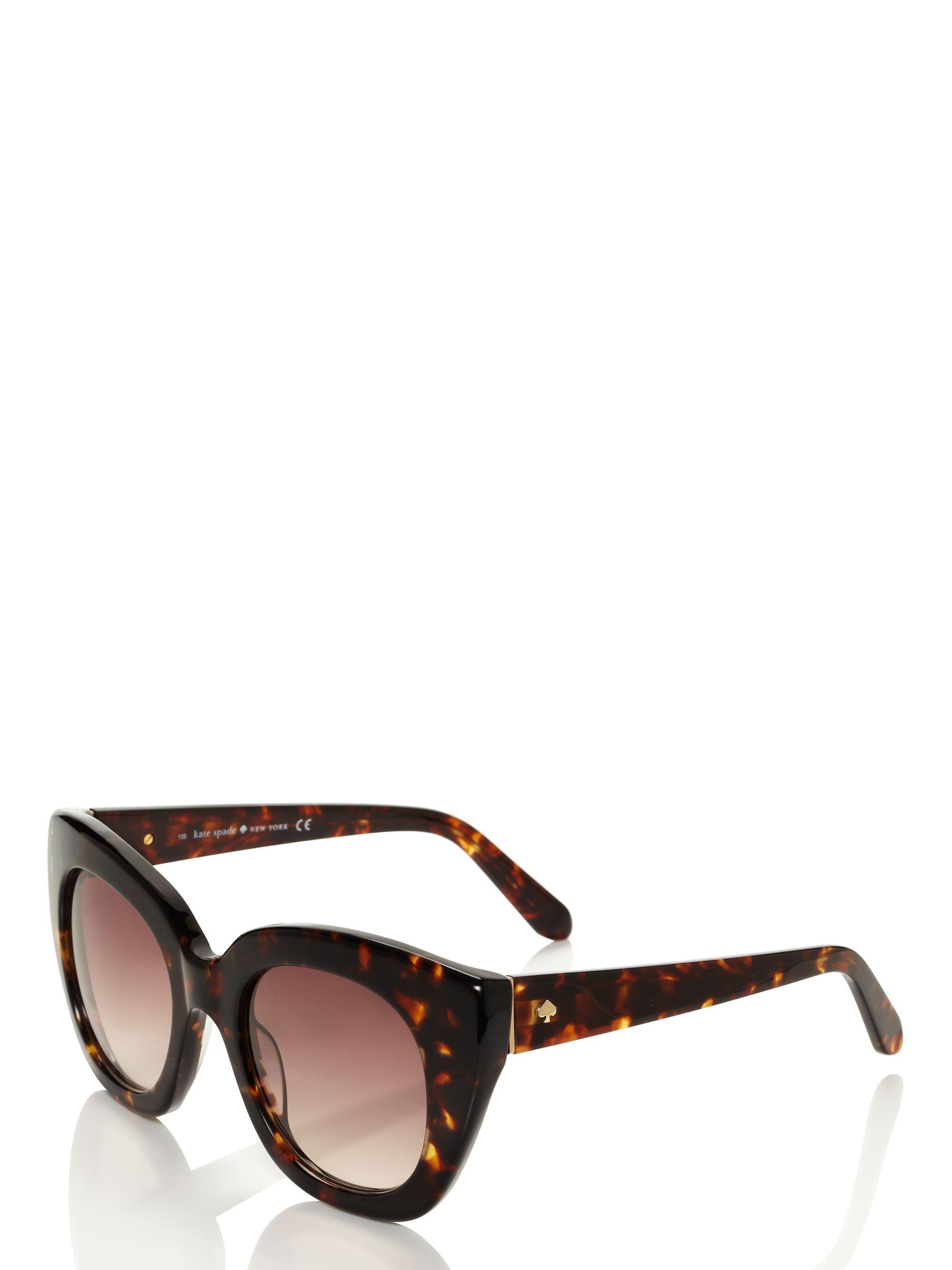 ffdfa12197c Lyst - Kate Spade Narelle Sunglasses in Brown
