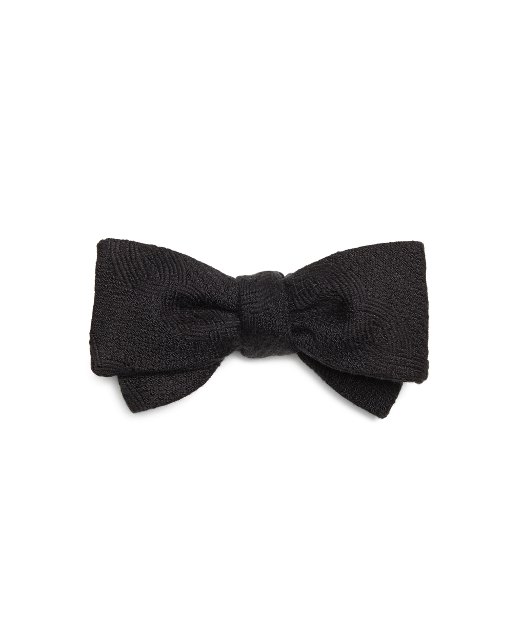 Brooks brothers Cable Bow Tie in Black for Men | Lyst