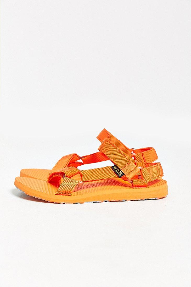 Lyst Teva Original Universal Marbled Sandal In Orange