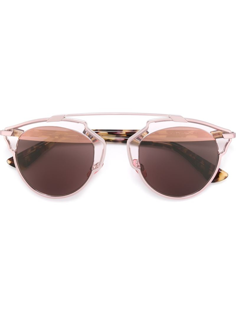 9a2255f2be Dior  dior So Real  Sunglasses in Brown for Men - Lyst