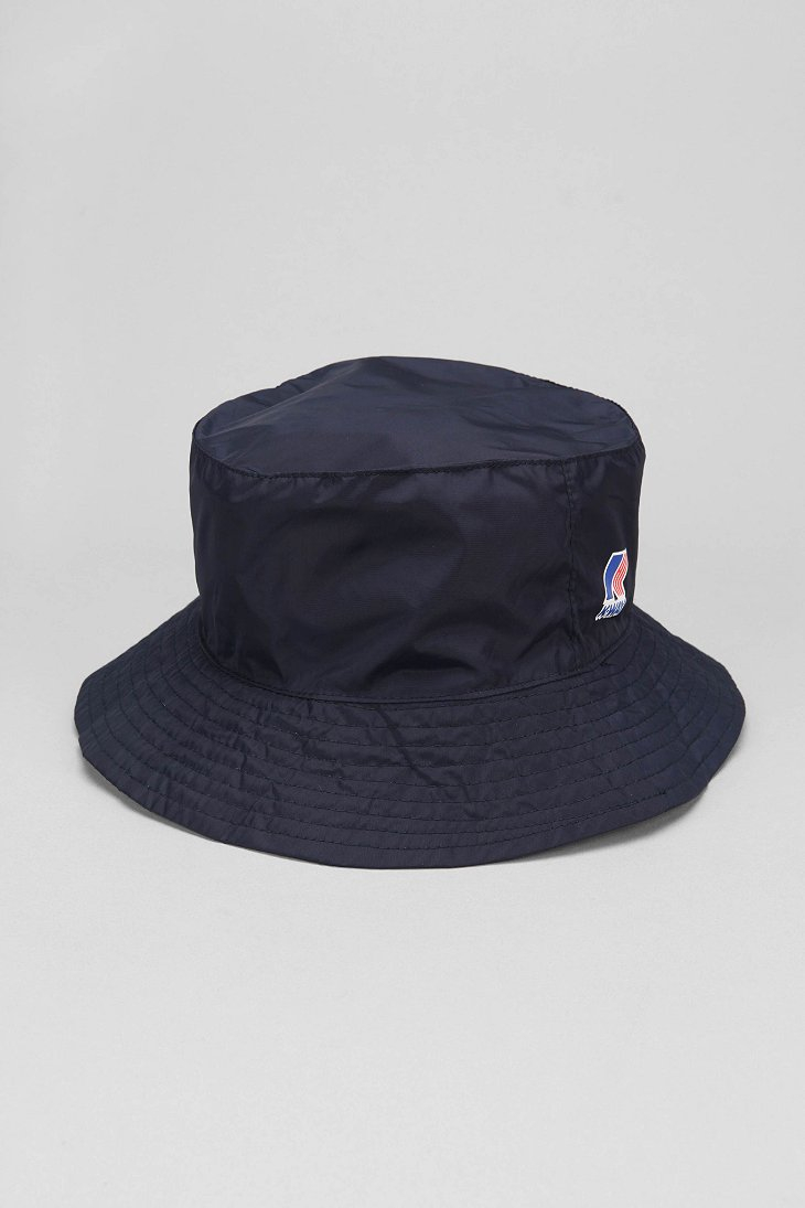 Lyst Urban Outfitters K Way Packable Bucket Hat In Blue
