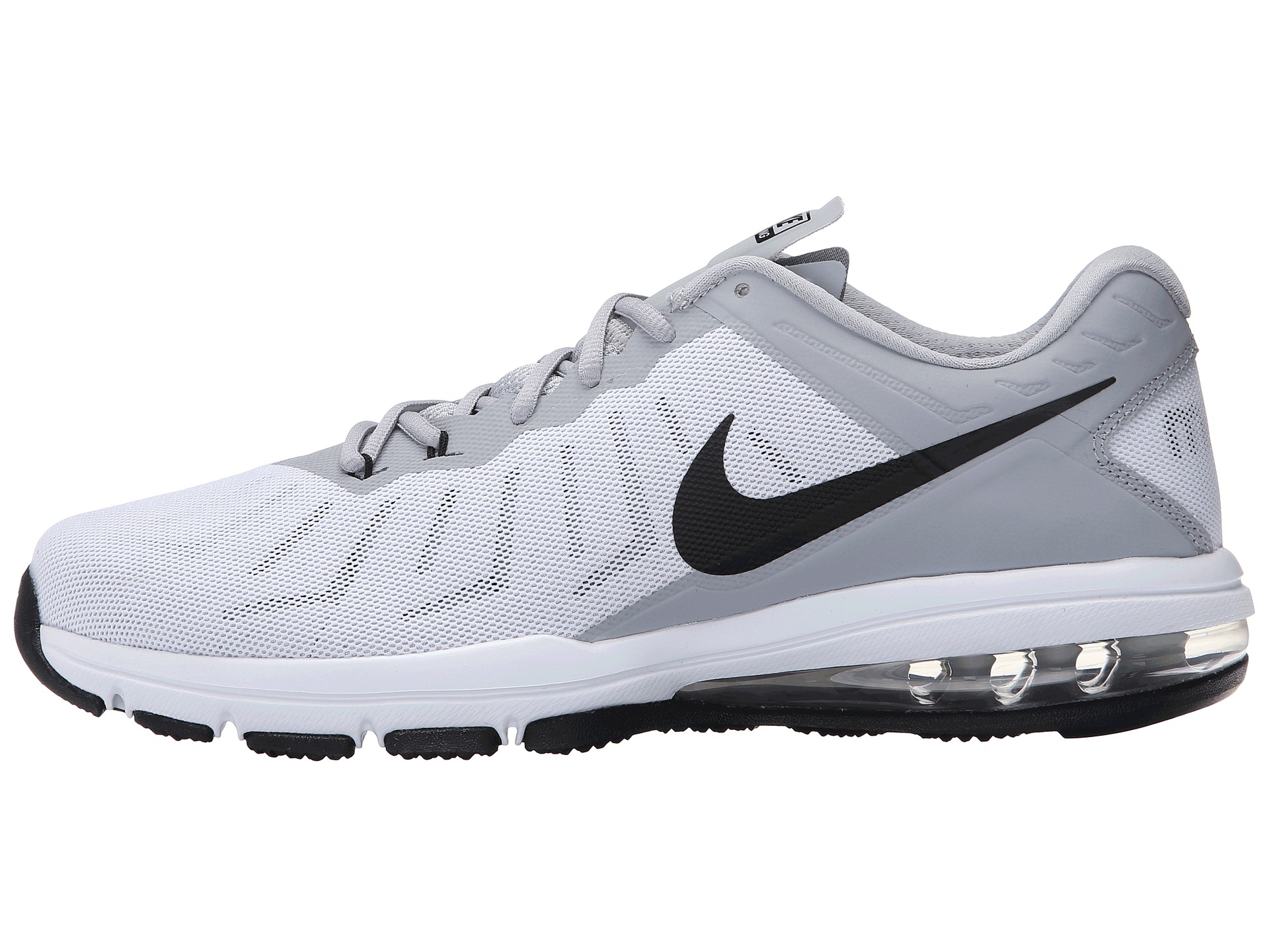 191290b7ca ... Training Shoe Black Anthracite Dark Grey Lyst - Nike Air Max Full Ride  Tr in White for Men ...