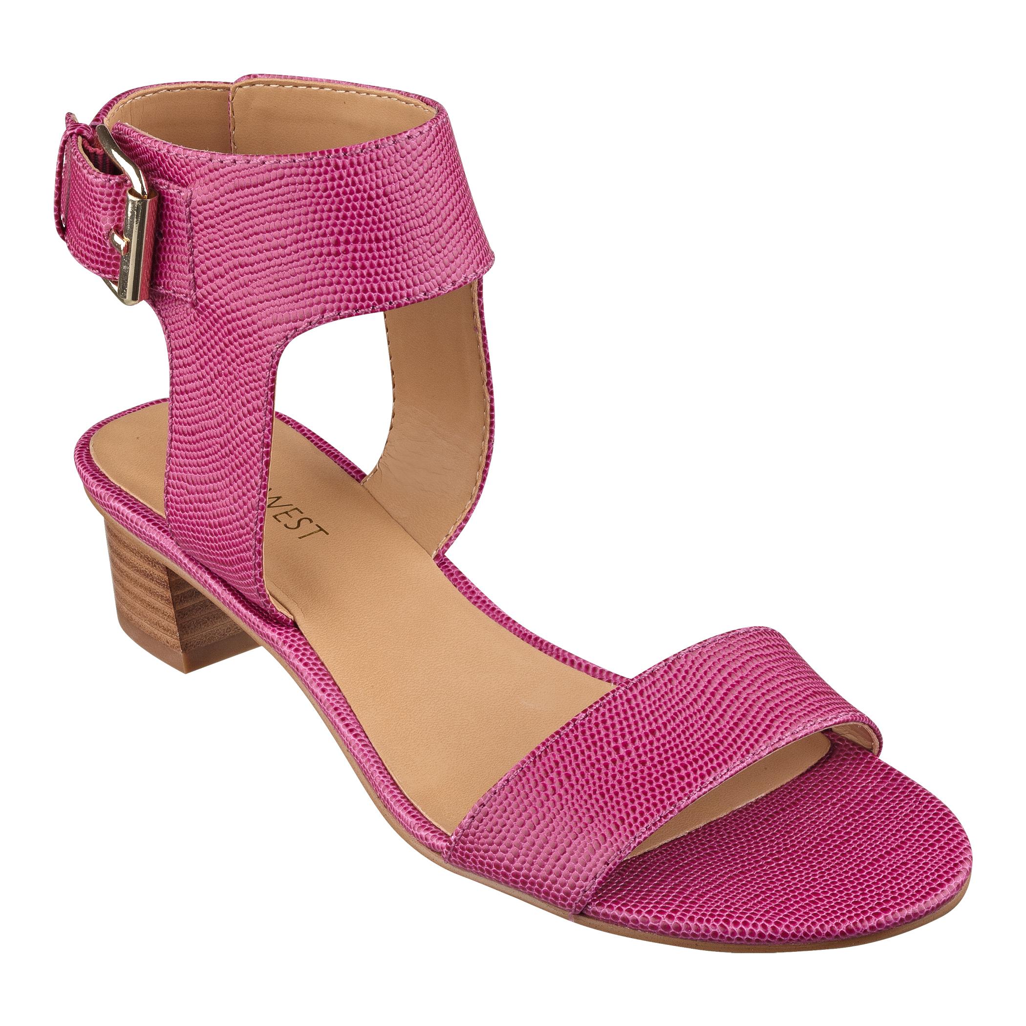 f8f472831ee1 Pink Nine West Sandals