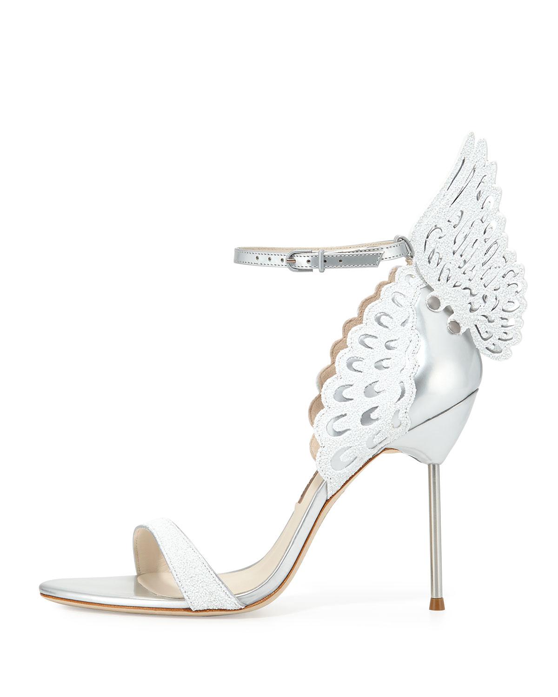 outlet huge surprise Sophia Webster Evangeline Metallic Sandals online sale online in China cheap price discount prices VDmXejhjKh