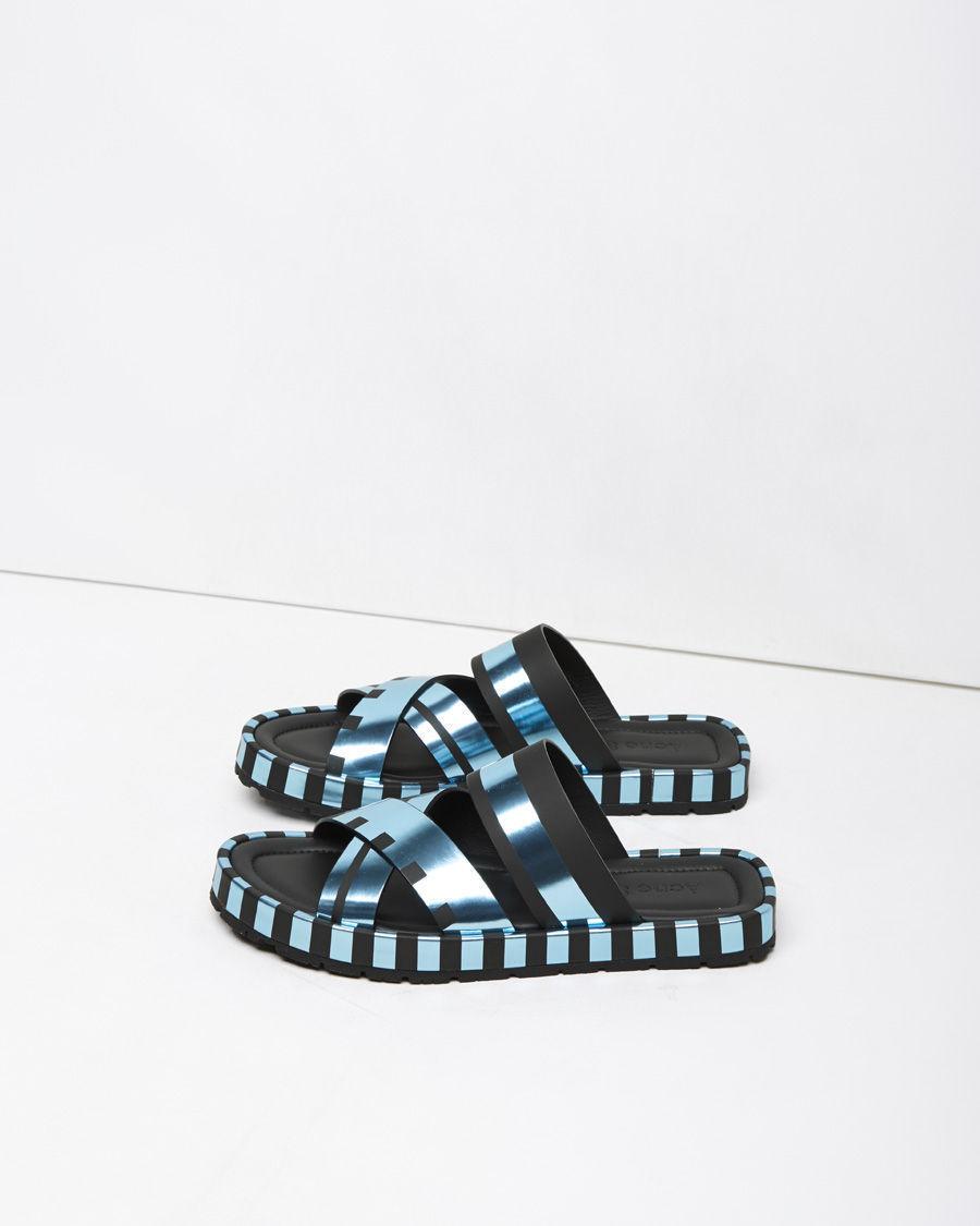 acne studios kleate sandal