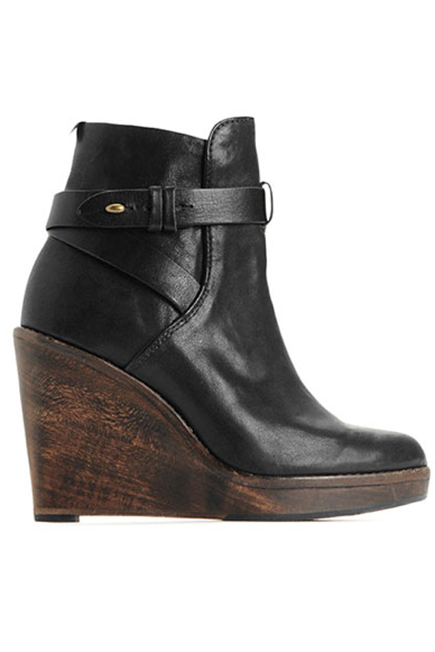 Lyst Rag Amp Bone Emery Wedge In Black