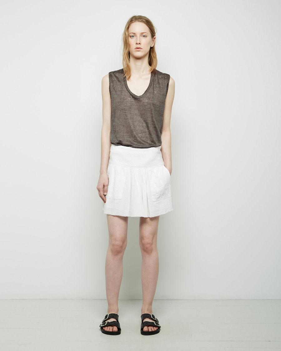 659f0315e Lyst - Étoile Isabel Marant Vera Skirt in White
