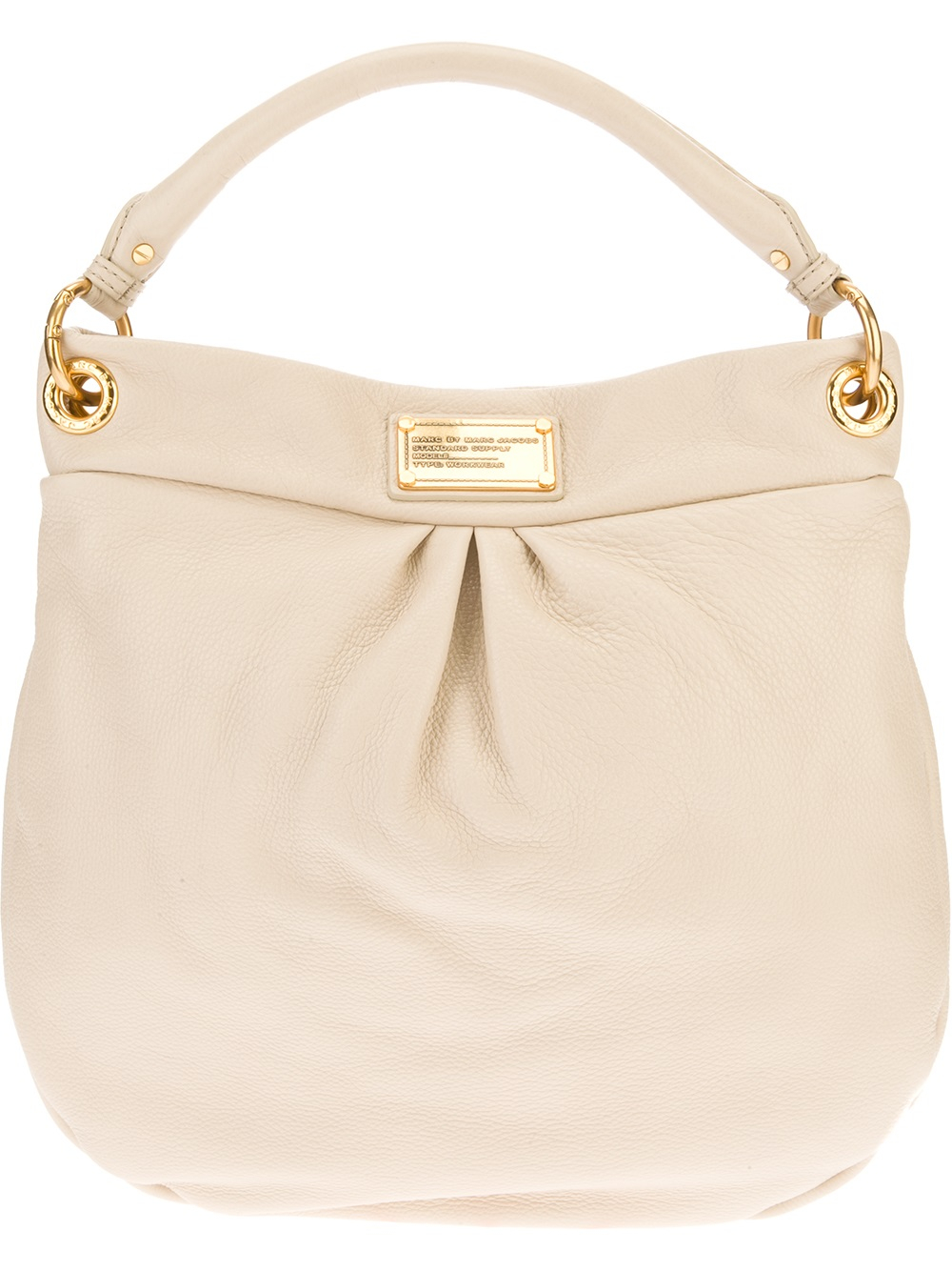 667220ad16c6 Lyst - Marc By Marc Jacobs Hillier Hobo Tote Bag in Natural