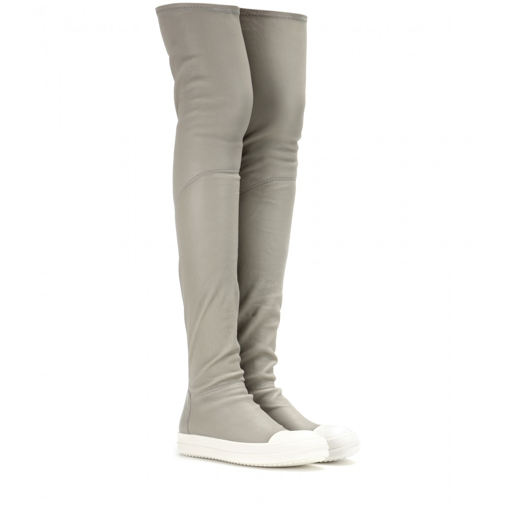 Rick Owens Ballerina Over-the-Knee Boots 5Sfnhq7EO