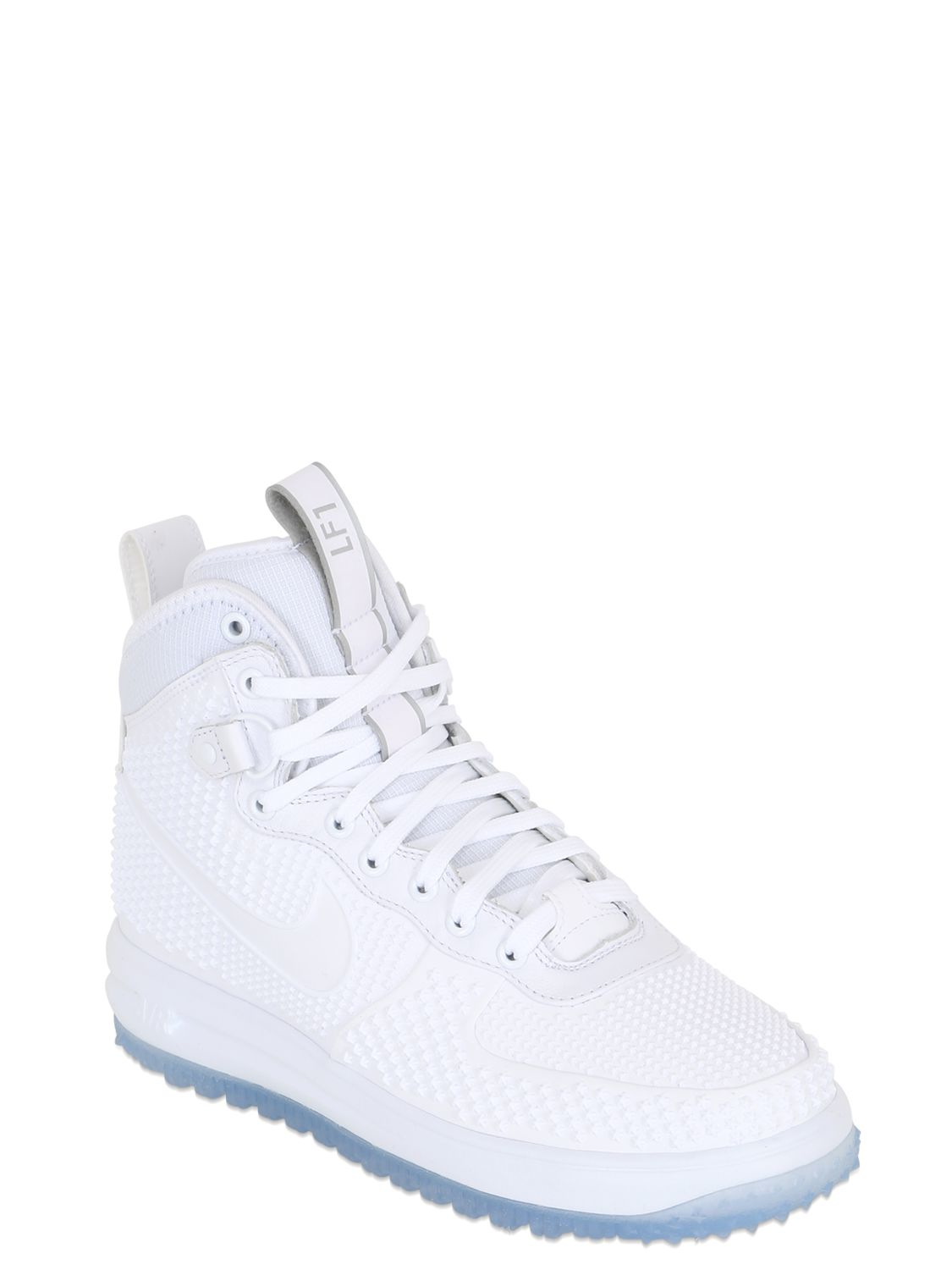 sports shoes 433de 2353c Nike Lunar Force 1 Duckboot Prm Sneakers in White for Men - Lyst