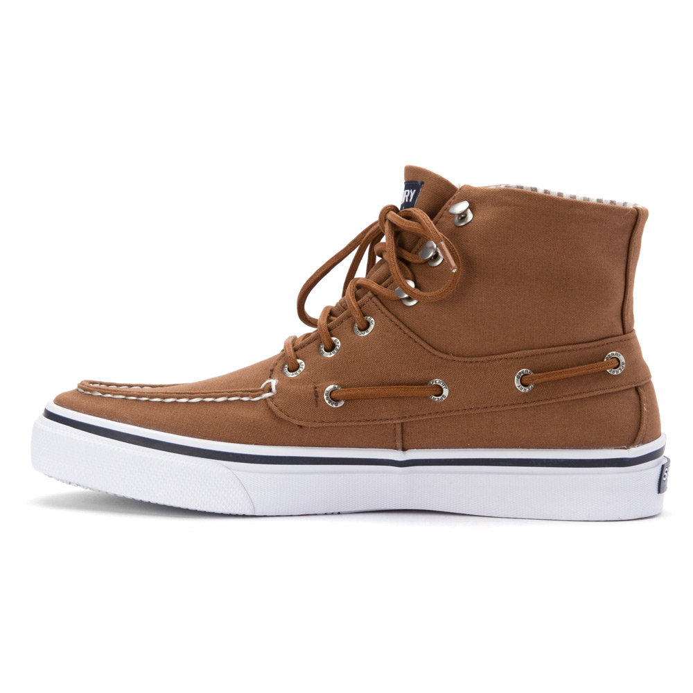 sperry top sider bahama boot in brown for lyst