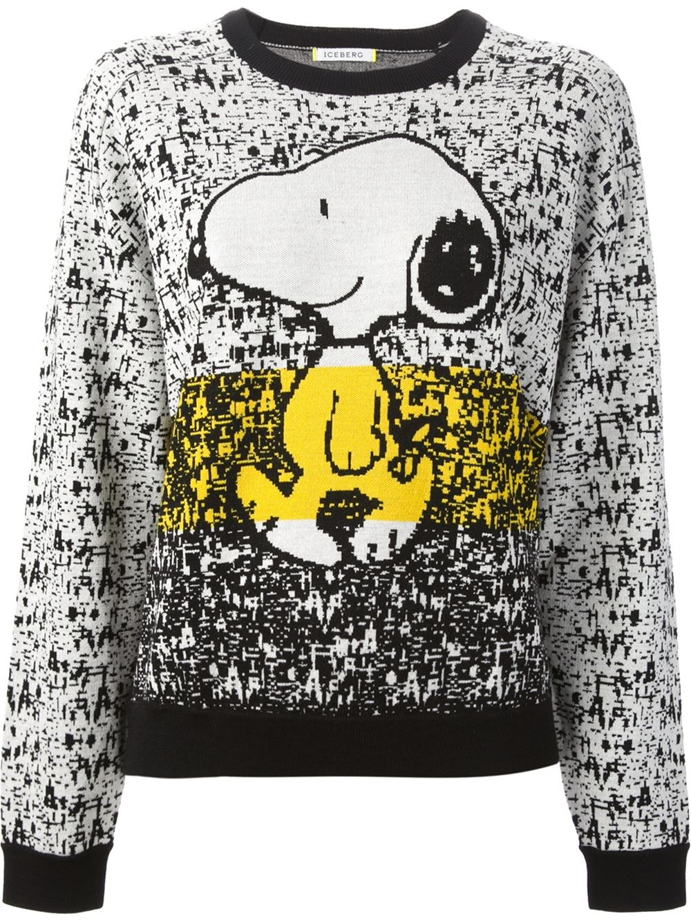 Lyst Iceberg Snoopy Sweater In Natural