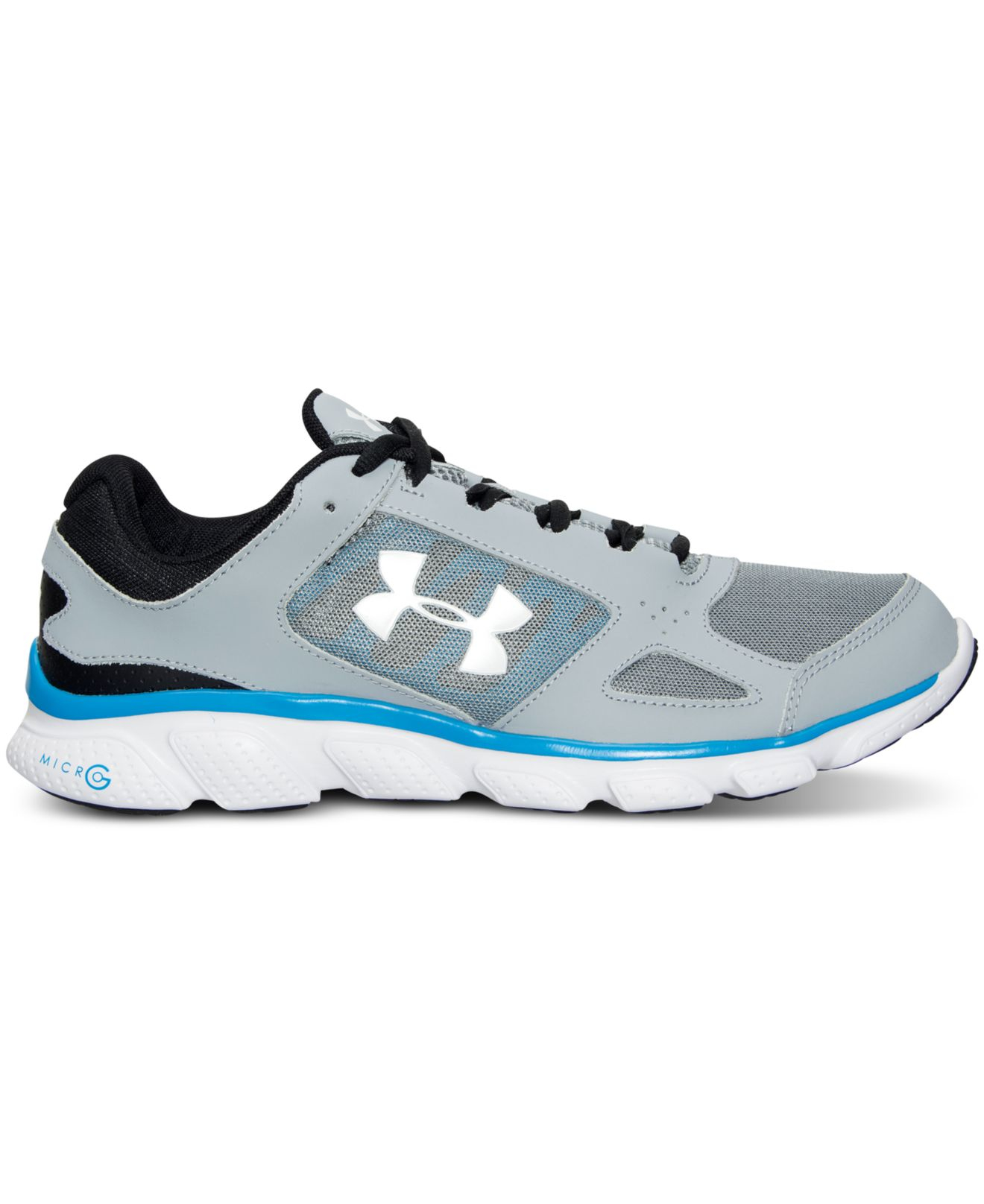 Lyst - Under Armour Men s Micro G Assert V Running Sneakers From ... 114c9257f14