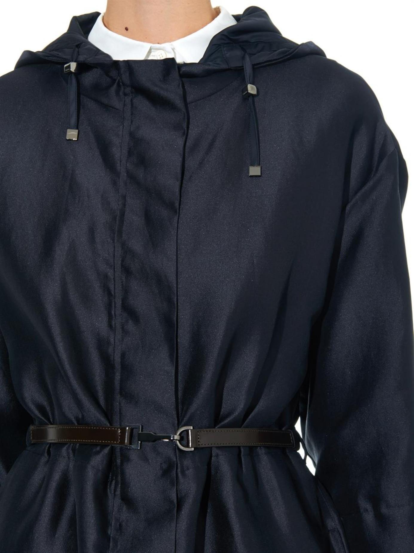 S Max Mara Soirc Reversible Coat In Blue Lyst