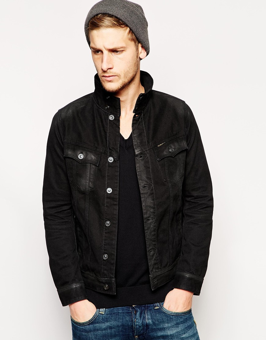 1fa7c26d1e7 Lyst - G-Star RAW G Star Denim Jacket in Black for Men