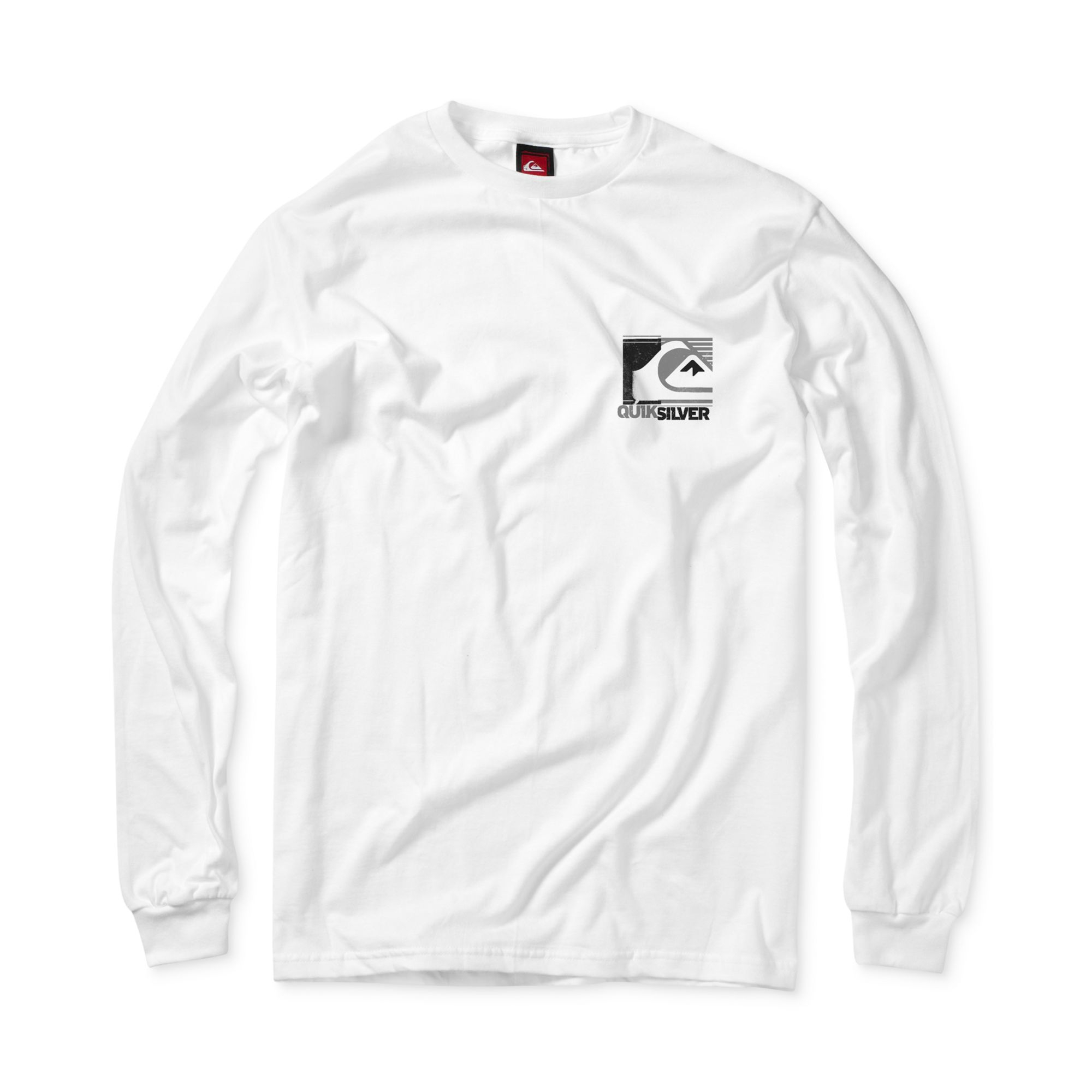 453ad26f2d5 Lyst - Quiksilver Radiation Long Sleeve Graphic T-Shirt in White for Men