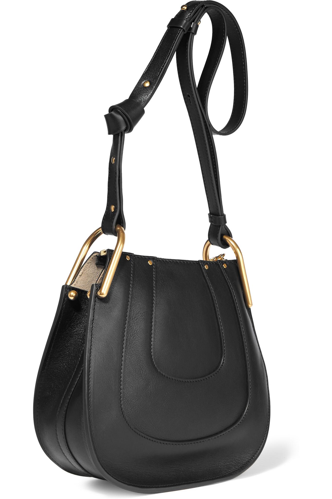 chloe wallets online - chloe hayley nano textured-leather shoulder bag, replica chloe bags