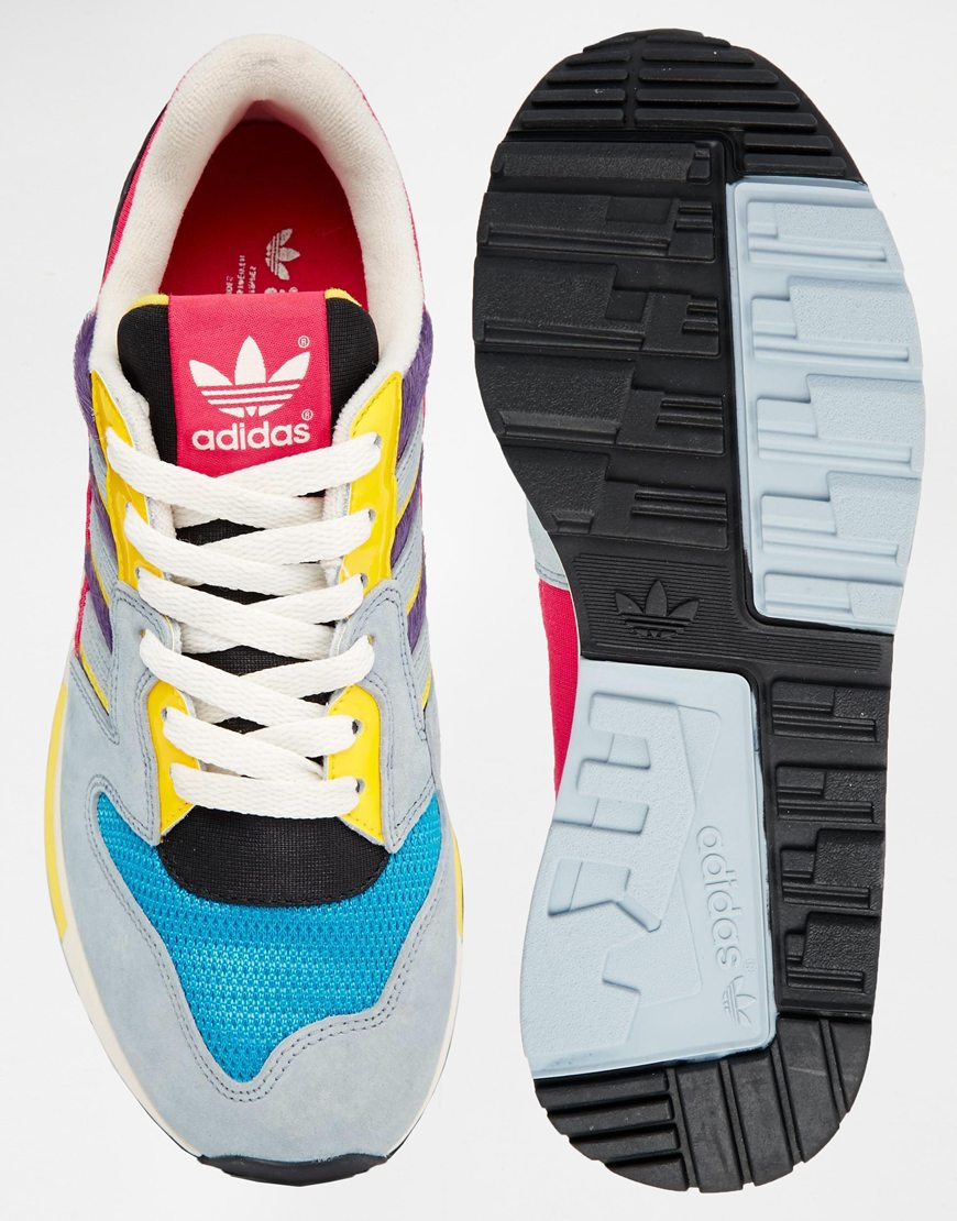 466f6fbd35e60 Lyst - adidas Zx 420 Multi Colored Sneakers