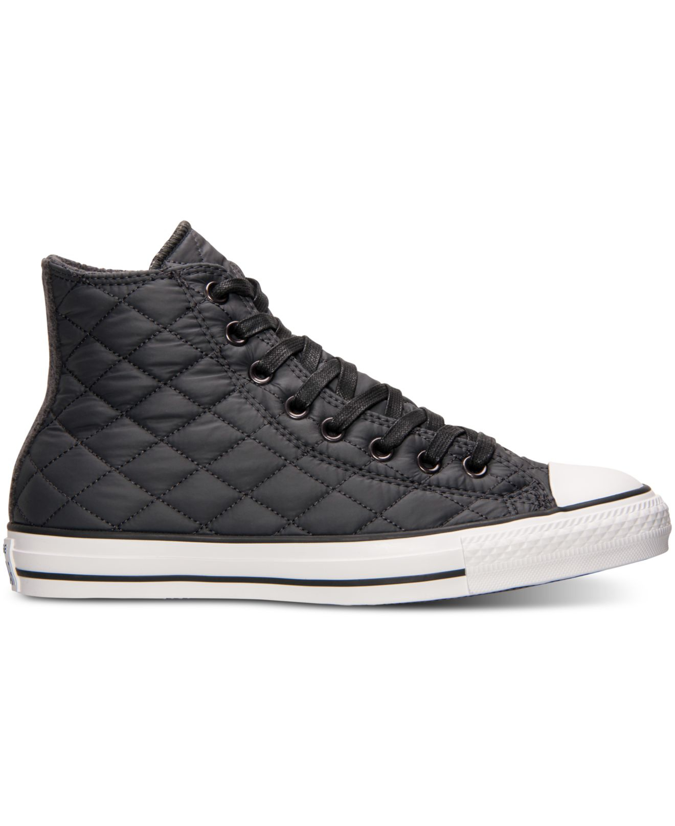 26be328d9f3a Lyst - Converse Unisex Chuck Taylor Hi Quilted Nylon Casual Sneakers ...