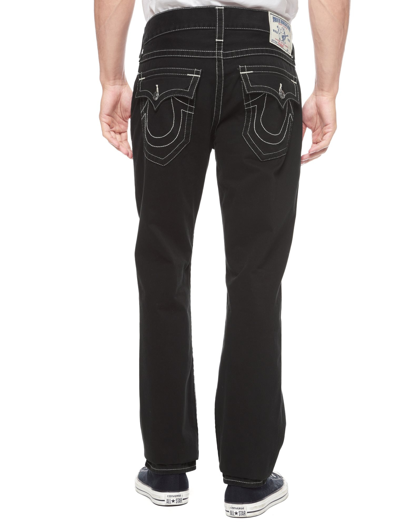 True religion Hand Picked Straight Mens Jean in Black for ...