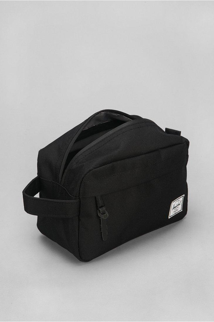Herschel Supply Co Chapter Dopp Kit Bag In Black For Men