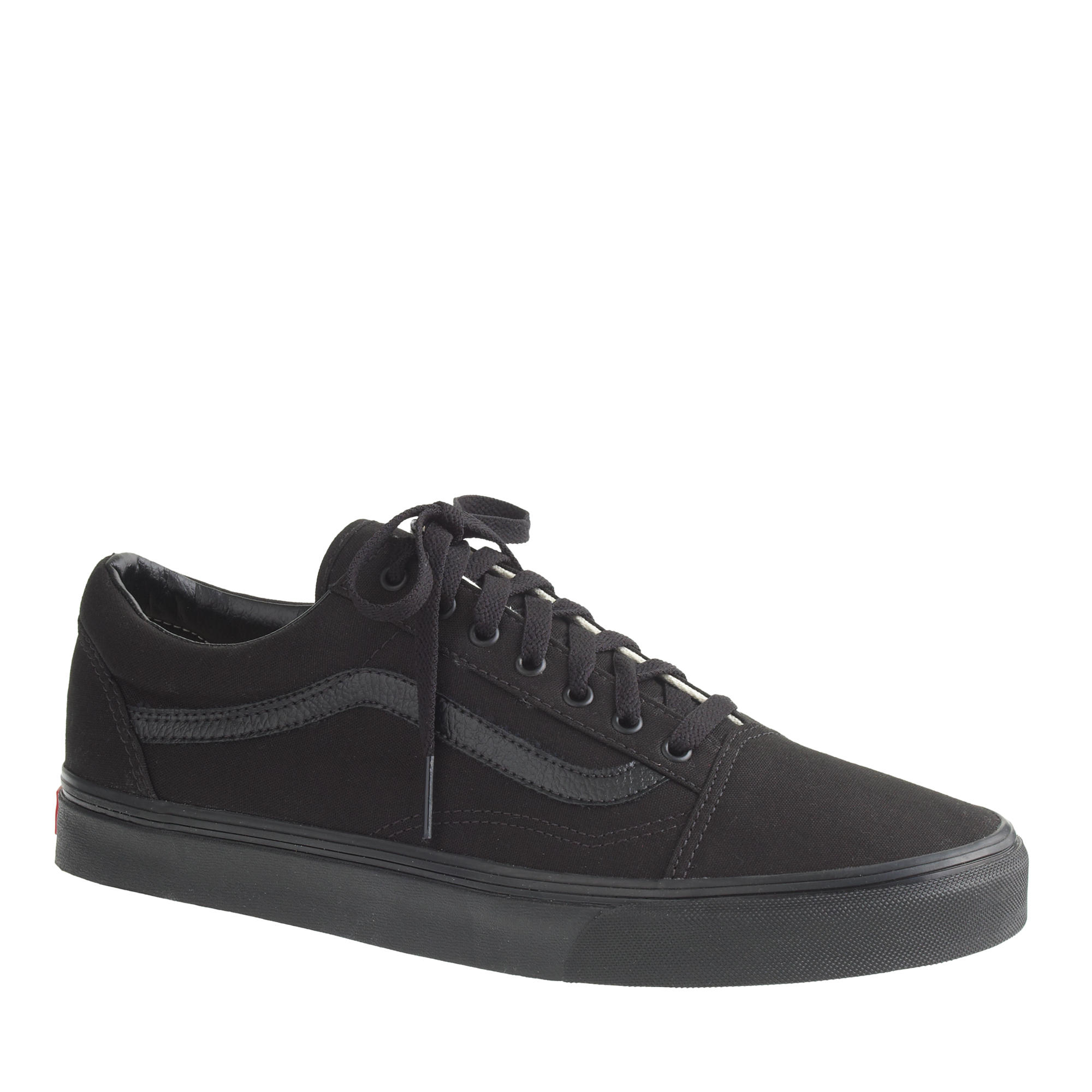 0b03bfd2aca0 Lyst - J.Crew Men S Vans® Old Skool Sneakers In Black in Black for Men