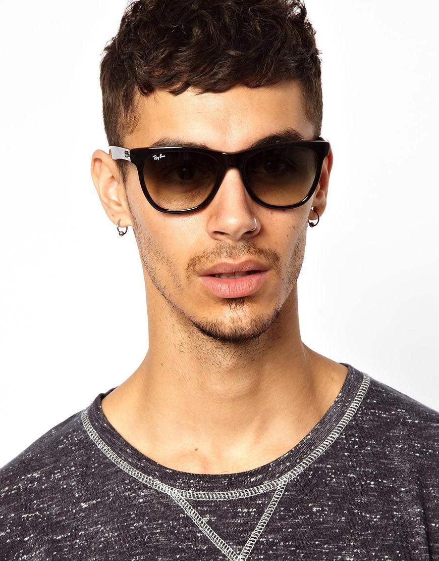 ray ban wayfarer glasses 0rx5353 in black for men lyst. Black Bedroom Furniture Sets. Home Design Ideas