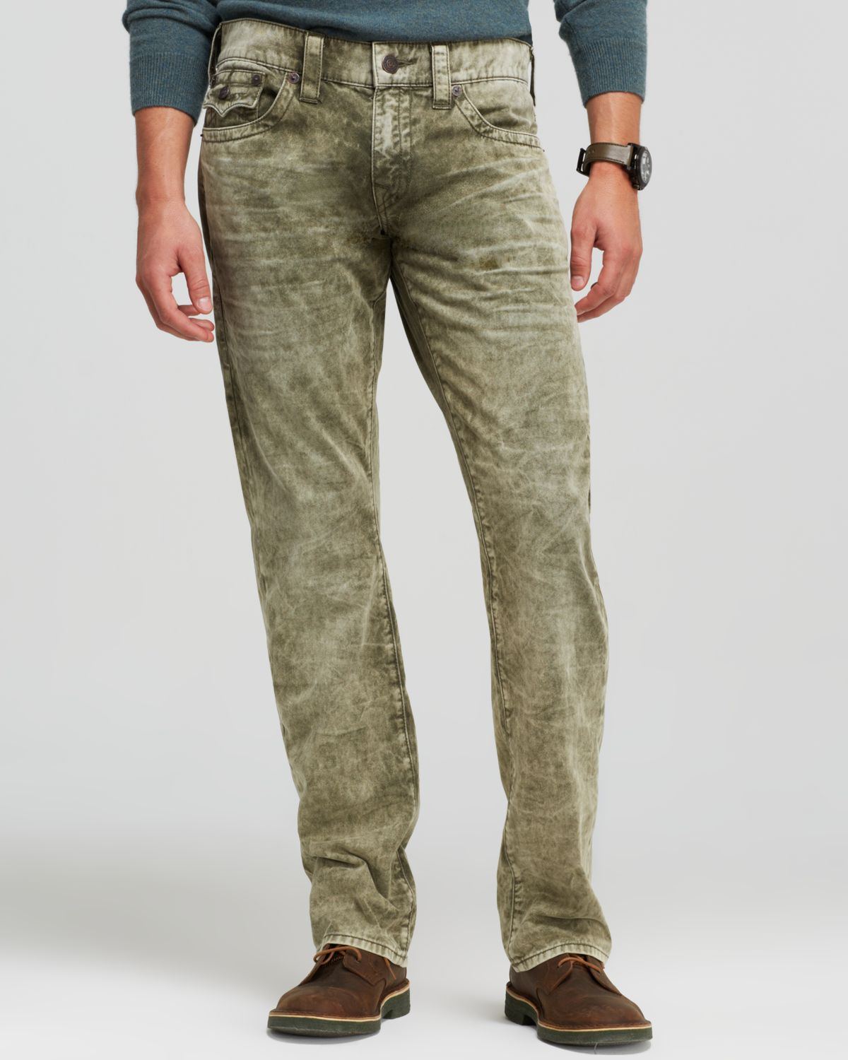 Lyst - True Religion Jeans - Ricky Straight Fit In Ceder ...
