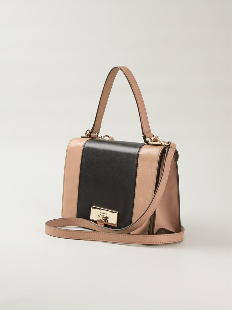 97354b5504 Lyst - MICHAEL Michael Kors Callie Medium Leather Cross-Body Bag in ...