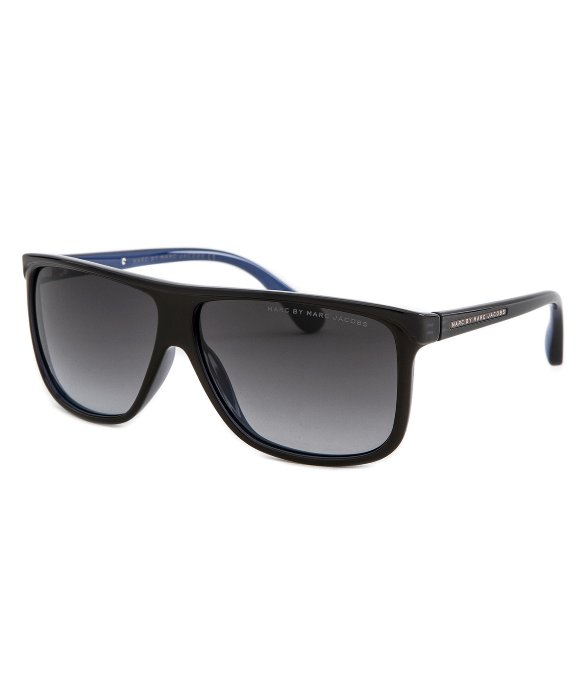Marc Jacobs Sunglasses Men  marc by marc jacobs mens rectangle black sunglasses in black for