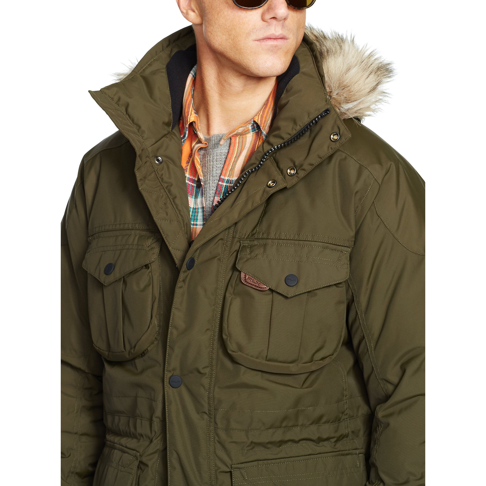 Rlx Ralph Lauren Ranger Down Parka In Green For Men Lyst