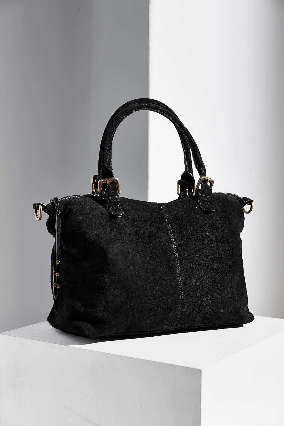 Lyst Ecote Fern Suede Tote Bag In Black