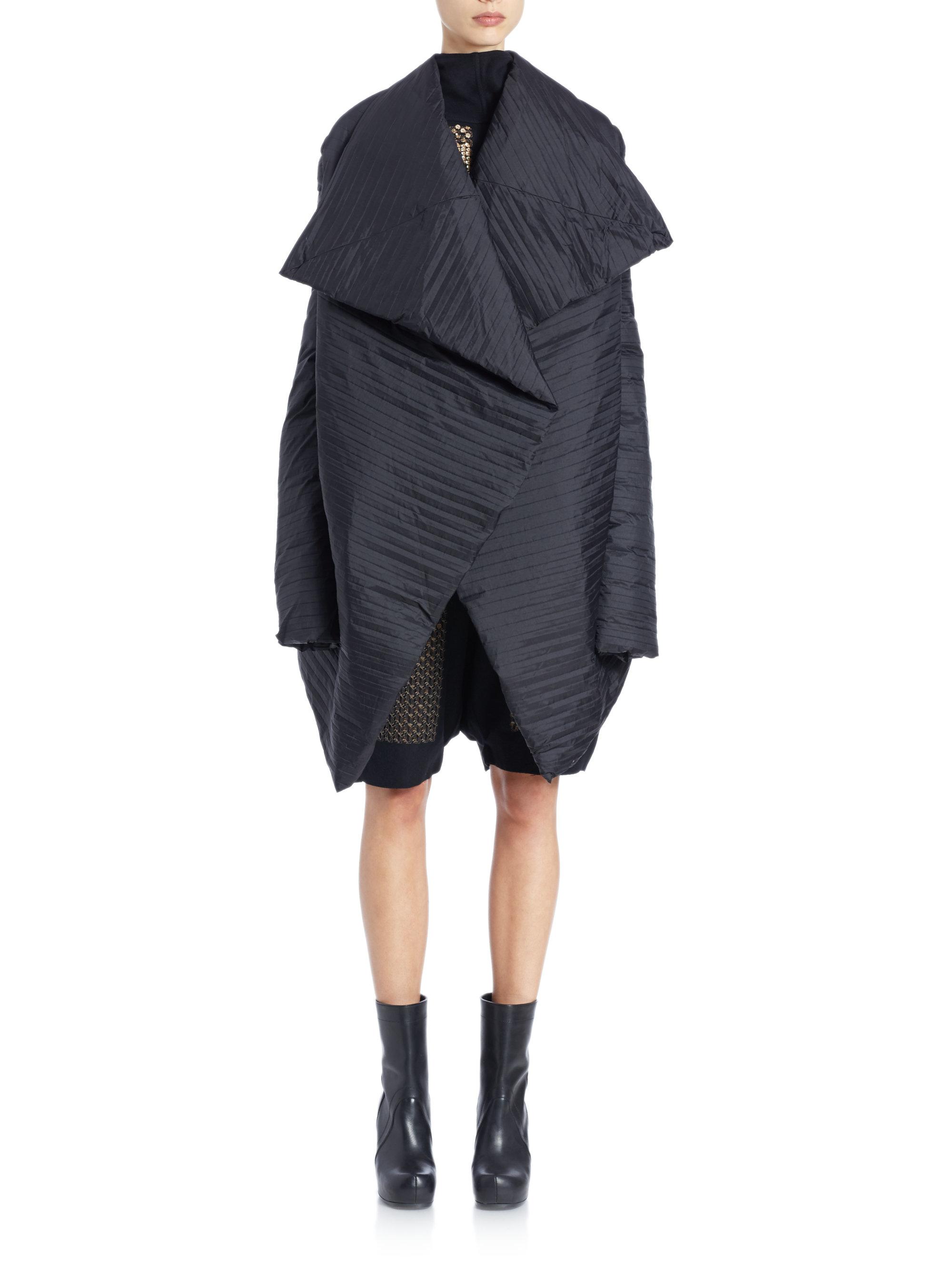 Rick Owens oversized jacket Outlet Footlocker Pictures Sale Limited Edition Sast Sale Online p2ktlPK