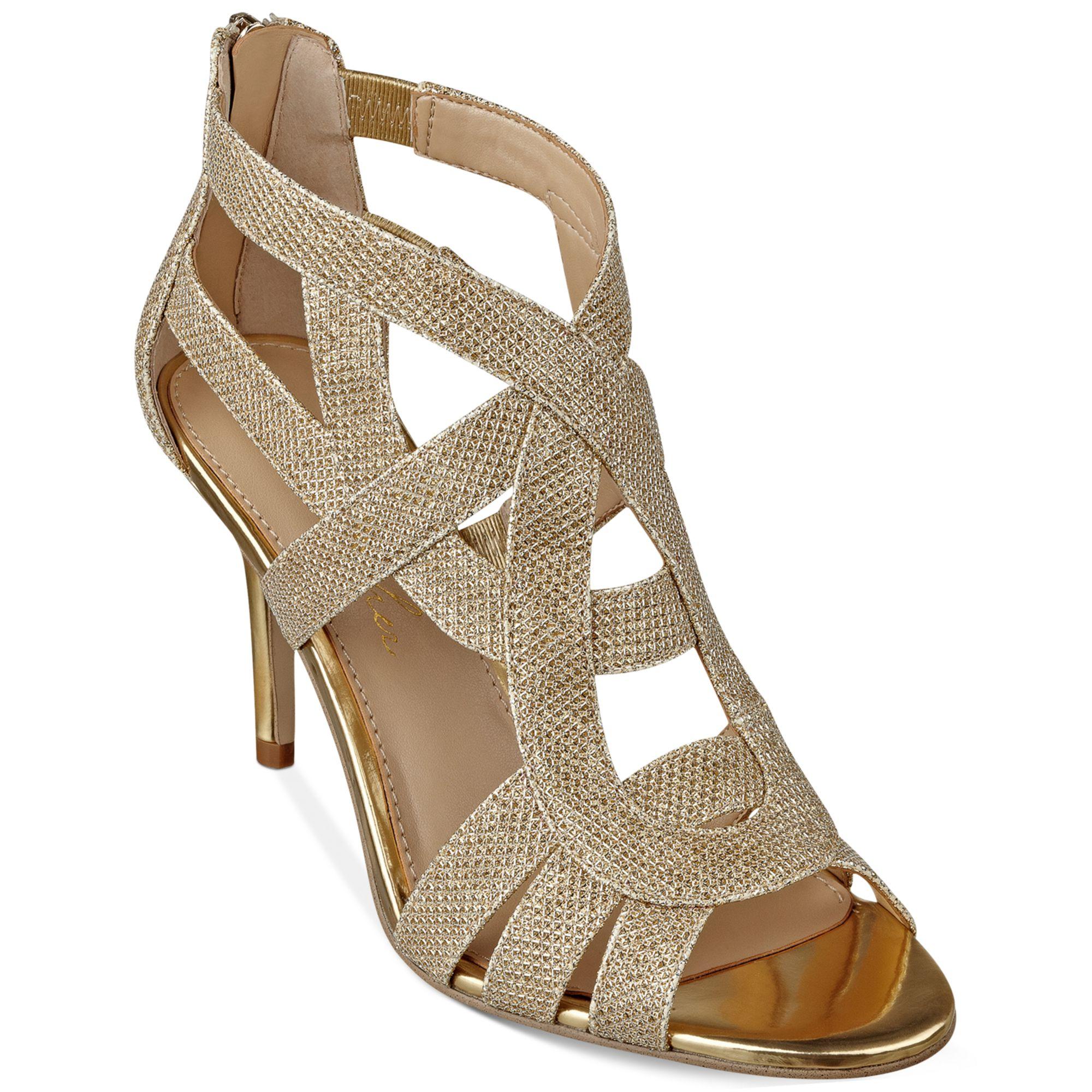 Ladies Evening Shoes Mid Heel