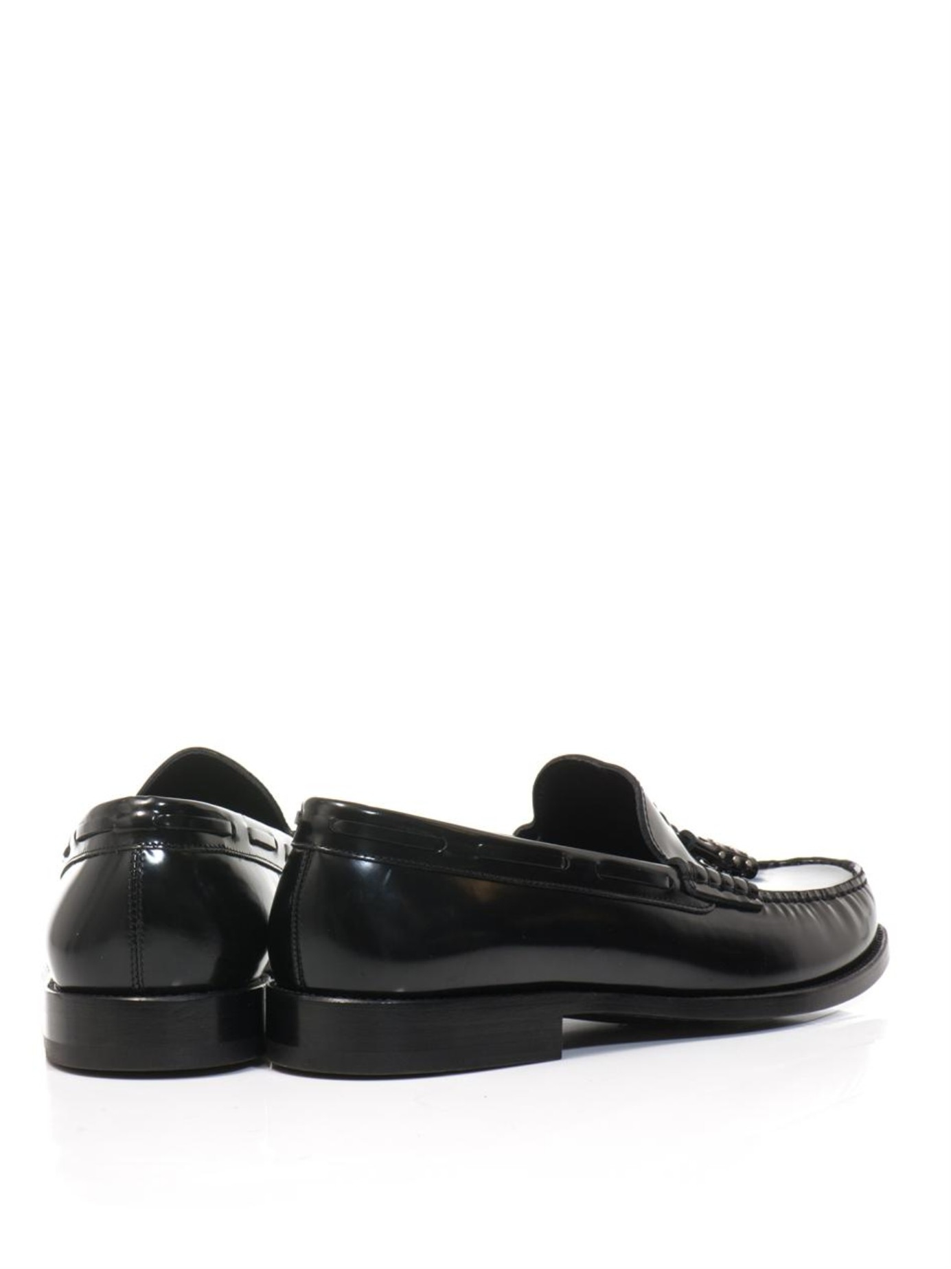 Tasselled Leather Loafers Saint Laurent SYvvMrV