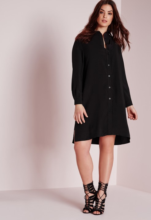 black shirt dress plus size – Little Black Dress | Black Lace ...