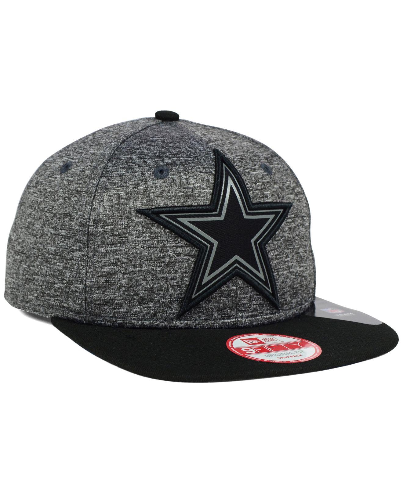 Lyst - KTZ Dallas Cowboys Gridiron 9fifty Snapback Cap in Black for Men 103cd4f67