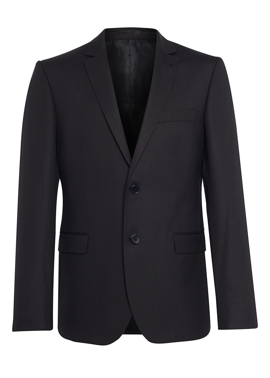 The Idle Man Suit Jacket In Slim Fit - Black In Black For Men | Lyst