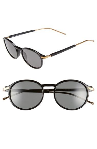 Loewe venice 49mm Sunglasses in Black Lyst