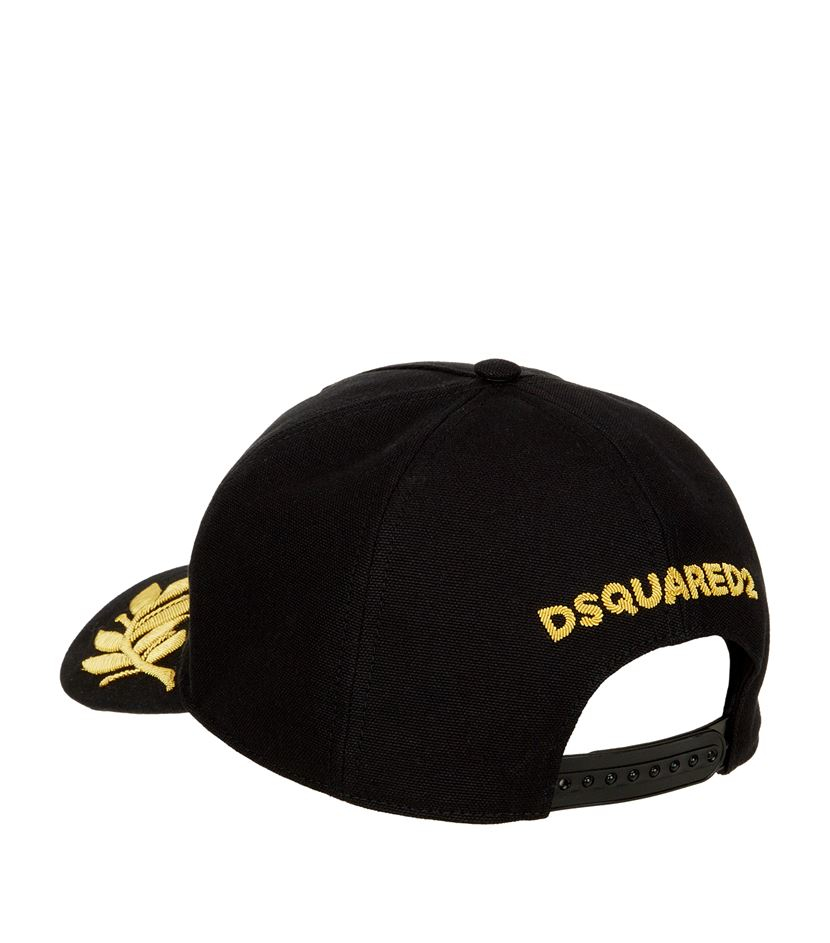 24-7 Star baseball cap - Black Dsquared2 FIXll9r