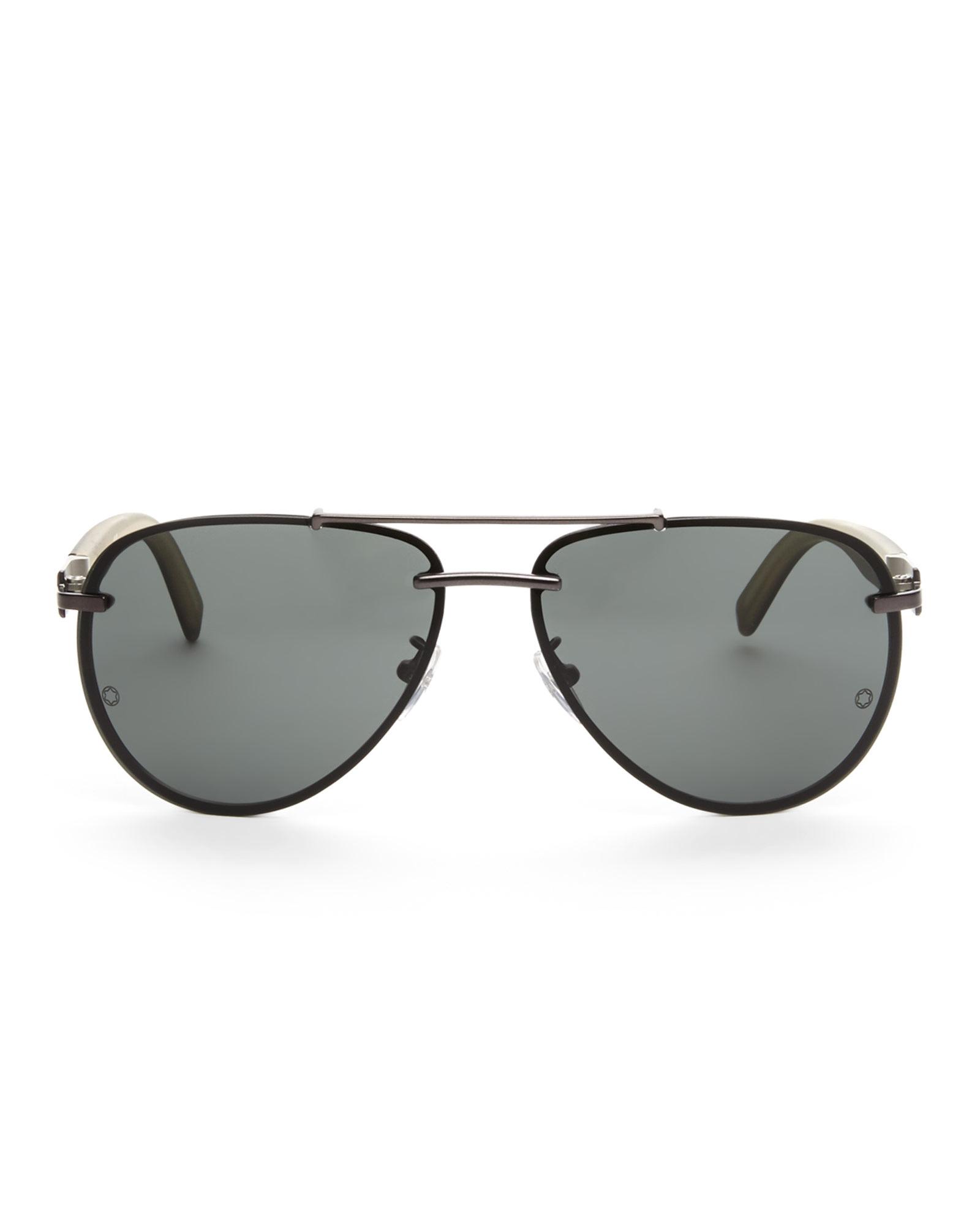be26109e9d5 Mango Semi Rimless Aviator Sunglasses « Heritage Malta