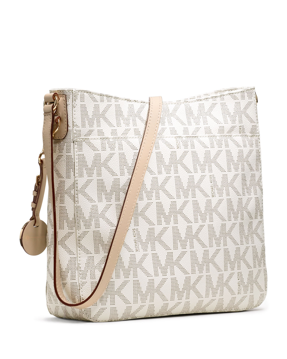 237b2fbfaaa6 Lyst - MICHAEL Michael Kors Jet Set Large Travel Messenger Bag in ...