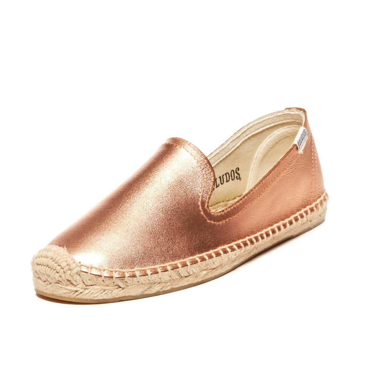 b9a09bd6795 Soludos Jupiter Leather Smoking Slipper in Pink - Lyst