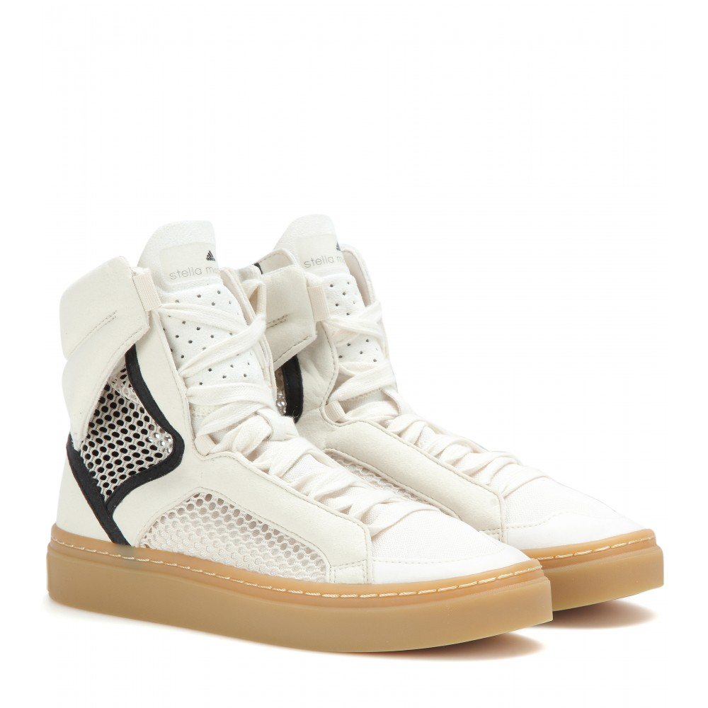 buy cheap best store to get free shipping looking for Stella McCartney for Adidas Round-Toe High-Top Sneakers buy cheap sneakernews cheap sale manchester great sale where can i order ecROYL